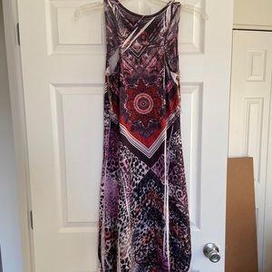 High-Low Maxi Dress